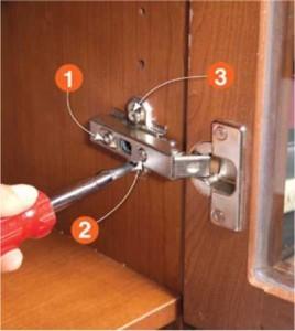Adjust misaligned doors