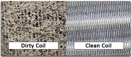 clean the coils
