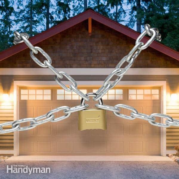Garage security tips tricks diy home improvement for Garage basics